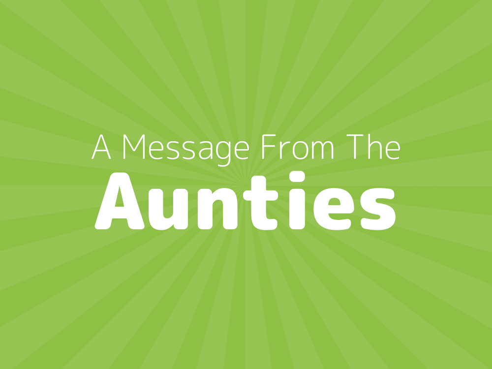 Moulton Pre-School: A Message From The Aunties
